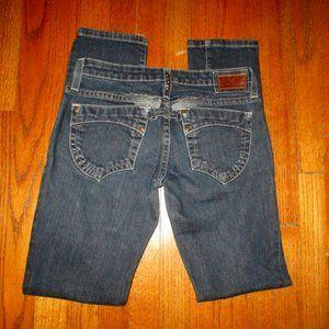 ROBIN'S JEAN Gardot Skinny Jeans Sz 27x31-1/2